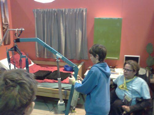 8. třída na interaktivní výstavě