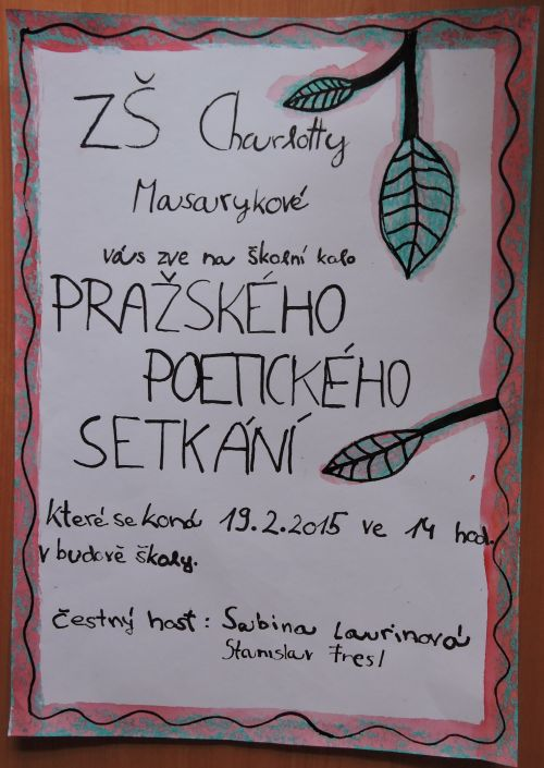 Pražské poetické setkání 2015