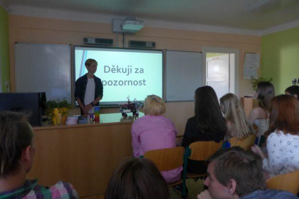 Fotoozvěny závěrečných prací IX. třídy