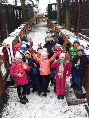 Aktivní středa školní družiny (13. 1. 2021)